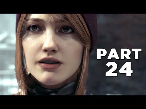 DETROIT BECOME HUMAN Walkthrough Gameplay Part 24 - FREEDOM MARCH (PS4 Pro)