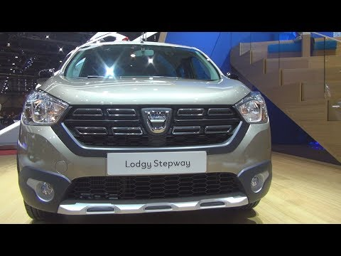 Dacia Lodgy Stepway Unlimited 2 DCi 110 Stop & Start 7-places 107 Hp (2018) Exterior And Interior