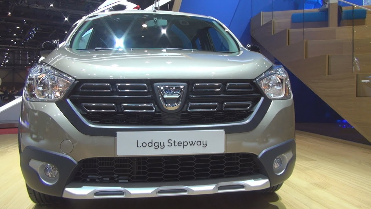 dacia lodgy stepway unlimited 2 dci 110 stop start 7 places 107 hp 2018 exterior and interior