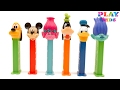Mickey Mouse Club House Pez Dispensers | Learn count with Pez Dispensers | Minnie Mouse Mickey Mouse