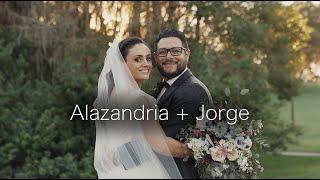 Alazandria + Jorge Wedding Video   Innisbrook Resort   Palm Harbor, Florida