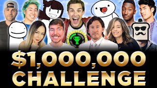 The Game Theory $1,000,000 Challenge for St. Jude! ft. MrBeast, Markiplier, Dream, Pokimane, & more!