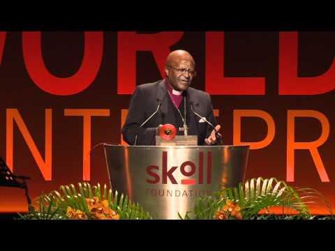 Desmond Tutu, Skoll Global Treasure Award, Skoll World Forum 2011
