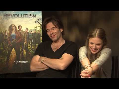 Billy Burke and Tracy Spiridakos Interview - Revolution
