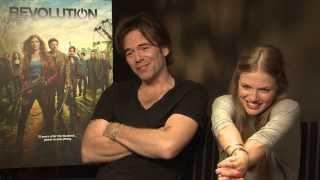 Billy Burke and Tracy Spiridakos Interview - Revolution