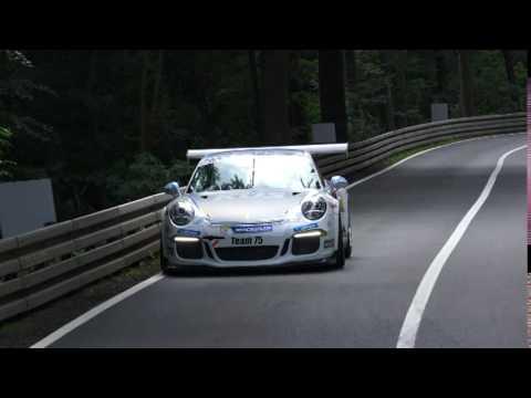 Timo Bernhard  Porsche 911 GT3 Glasbachrennen 2016 Spin