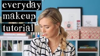 Everyday Makeup Tutorial - Natural Looking Everyday Makeup Thumbnail
