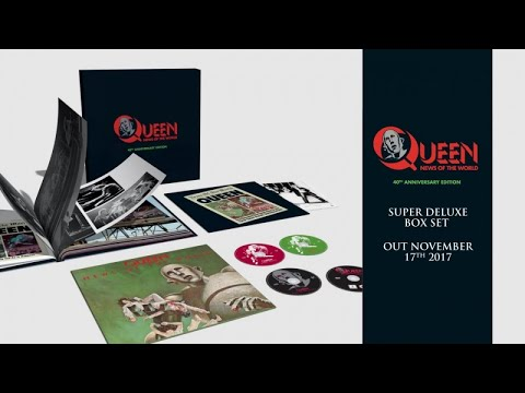 Queen - News Of The World - 40th Anniversary Edition Trailer