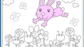 Free Easter Coloring Pages For Kids - Easter Coloring Pages