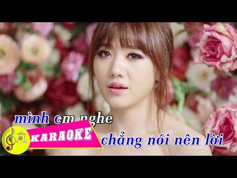 [KARAOKE] Yêu Không Hối Hận - HariWon | Beat Chuẩn