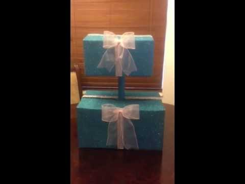 diy cupcake stand youtube. Black Bedroom Furniture Sets. Home Design Ideas