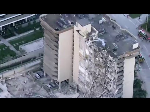 100 People Missing After Deadly Florida Bldg Collapse, Rescue Underway