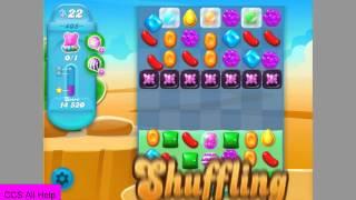 Candy Crush Soda Saga level 405 No Boosters