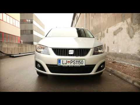 2012 Seat Alhambra 20 Tdi Ecomotive 4x4 Test Youtube