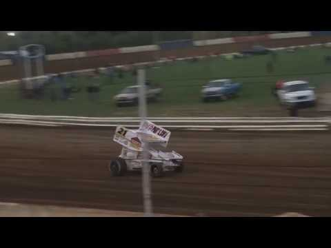 Brian Brown Qualifying  Terre Haute Action Track