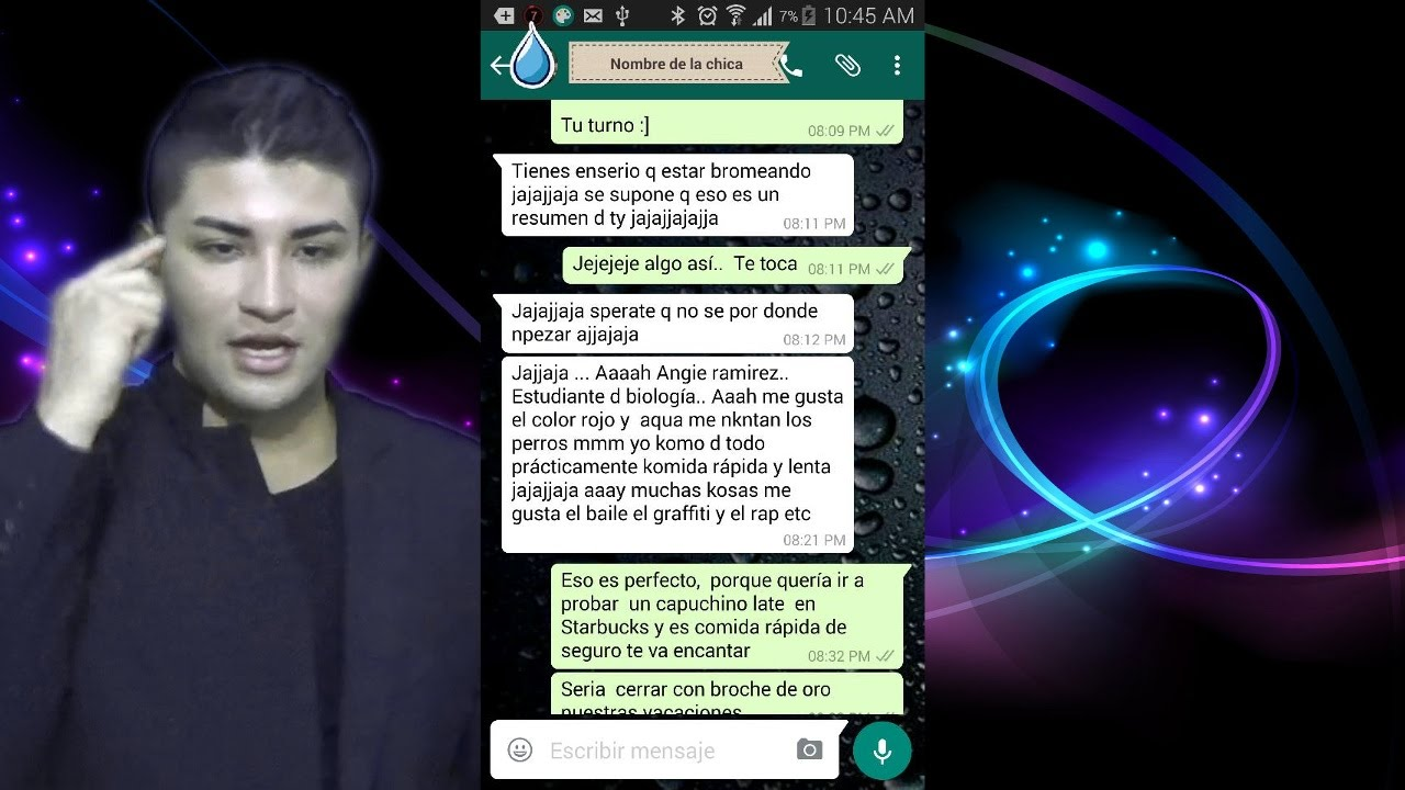 Whatsapp para el novio 2 - 1 part 6