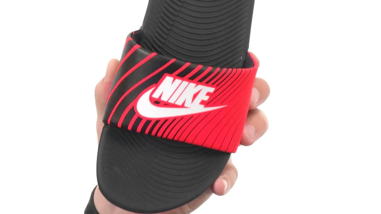 075147b9176e Nike Kids Kawa Slide Print (Little Kid Big Kid) SKU 8624300 - YouTube