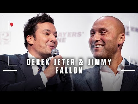 Jimmy Fallon joined Derek Jeter for an intimate conversation hosted by The Players' Tribune