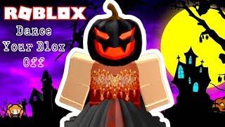 ROBLOX DANCE YOUR BLOX OFF HALLOWEEN #2 🎃 SPOOKY PUMPKIN QUEEN AND SPIDER COSTUMES