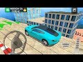 Roof Jumping Car Parking Games #4 Aston Martin - Android Gameplay FHD