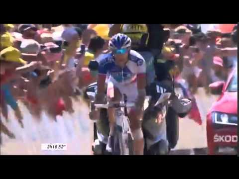 victoire de Thibault Pinot à l'Alpe d'huez - TOUR DE FRANCE 2015