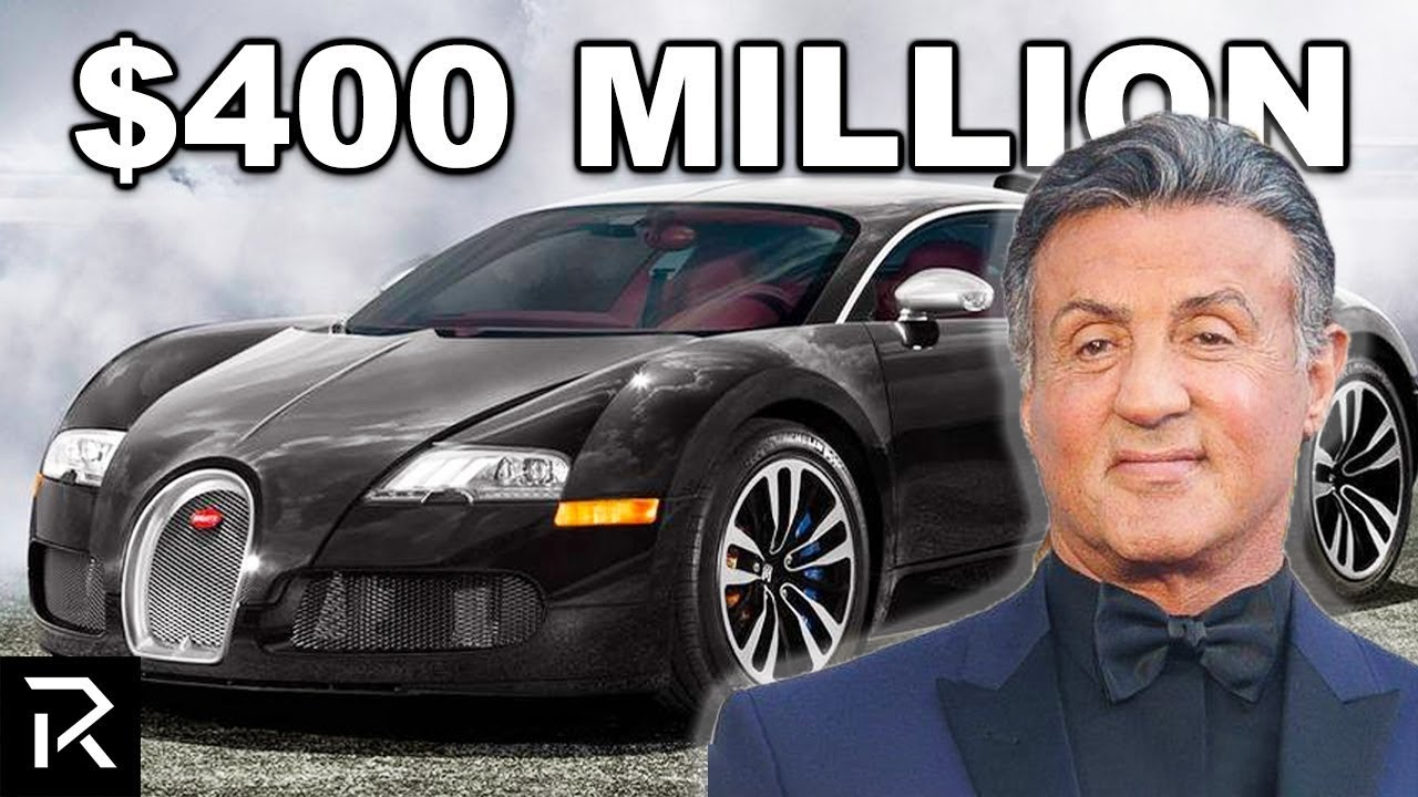 How Sylvester Stallone Spent $400 Million
