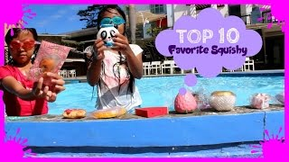 TOP 10 FAVORITE SQUISHY | Indonesia Squishy Tag