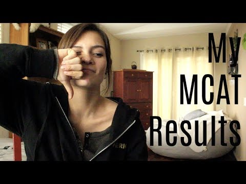 My MCAT Results