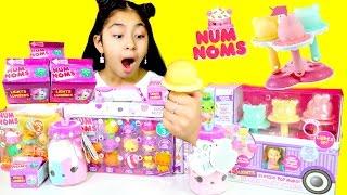 NEW Num Noms Ice Cream and Light Numières Luch Box and Surprsie Plush|B2cutecupcakes