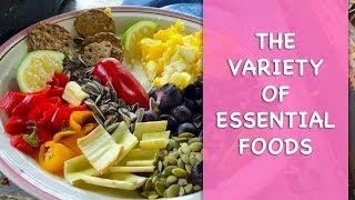 The Variety Of Essential  Foods | Dr. Robert Cassar