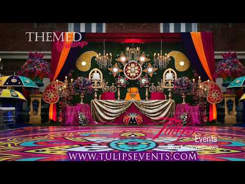 Rangoli Dholki Event Decoration Ideas By Tulips Events In