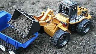 Машинки Бульдозер и Грузовик - Посылка из китая для детей - Игрушки для мальчиков