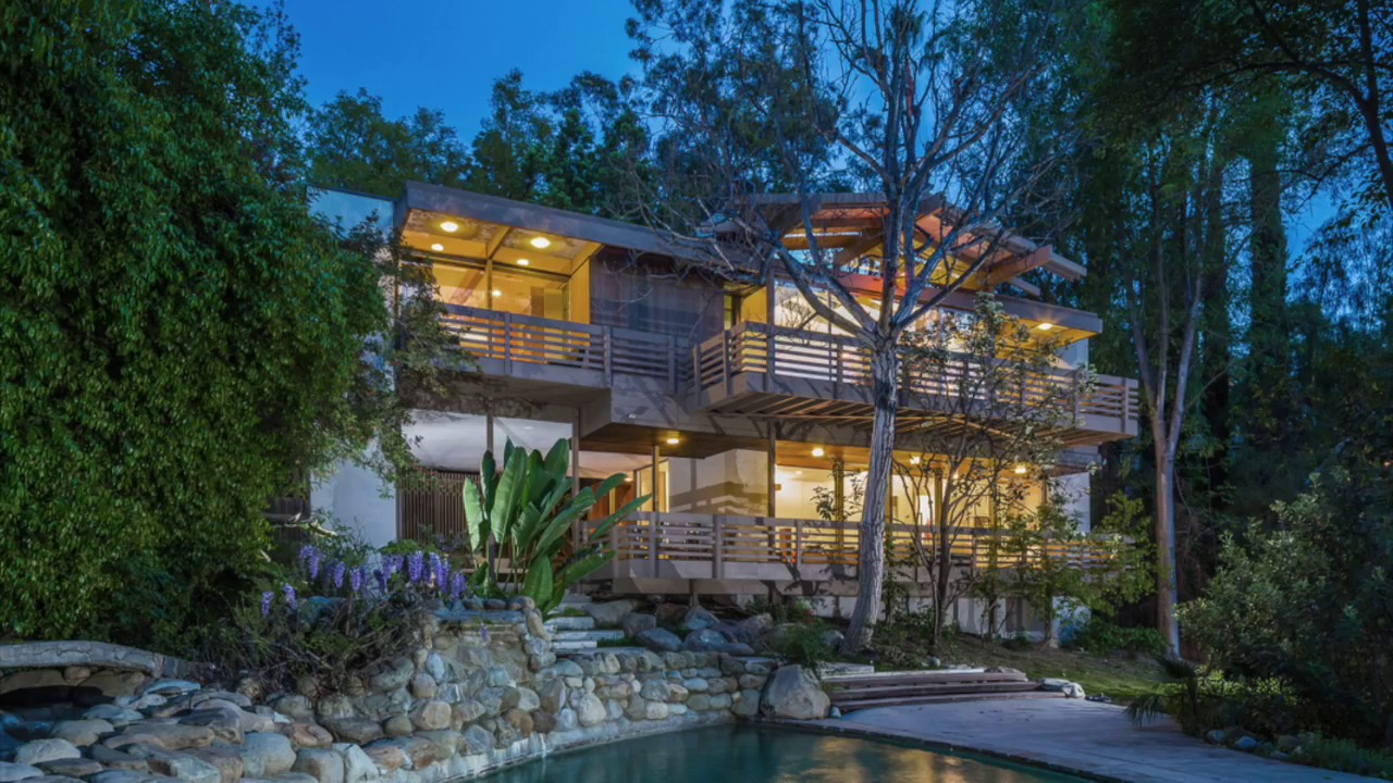 the strimling house by sci-arc founder ray kappe in encino