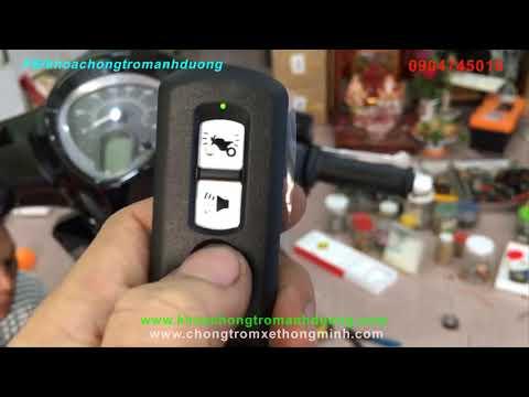 Siêu Hot ! Yamaha Janus Chìa Cơ độ Khóa Smart Key Chất Lừ, Full Chức Năng Chống Cướp