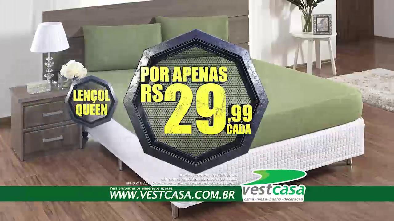 89b371bf6a VALE TUDO VESTCASA - Lençol Queen e Porta Travesseiro Micropercal ...