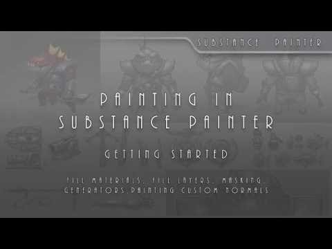 SP 02 Painting In Substance Painter