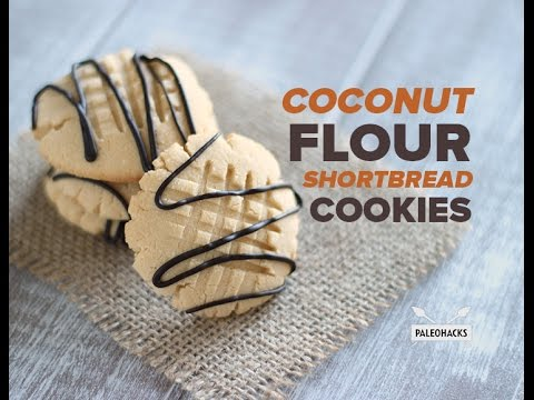 Coconut Flour Shortbread Cookies | Paleo Recipe
