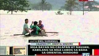 OC: Mga bayan ng Calapan at Naujan, kabilang sa mga lubog sa baha sa Oriental Mindoro