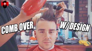 Comb Over Tutorial | Bald Fade | Corte de pelo | Richie The Barber