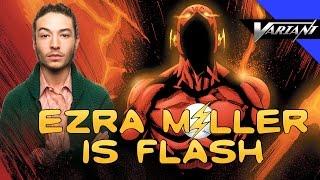 one shot ezra miller is flash dc movie lineup