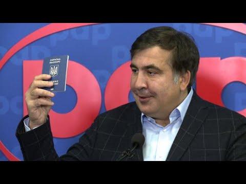 "Risking jail, Saakashvili says he's ""not afraid"" of entering Ukraine"