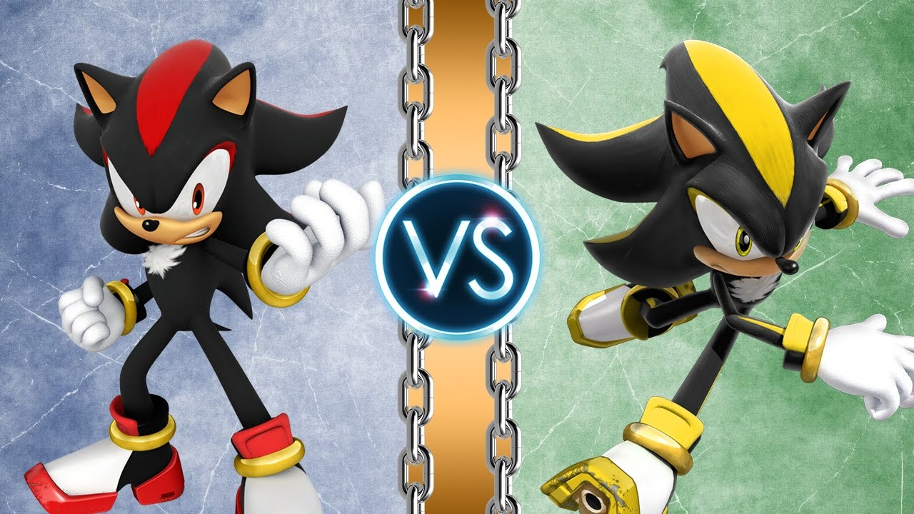 Shadow Vs Android Shadow  Remaster