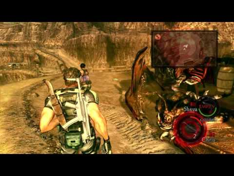 Resident Evil 5 All Boss Fights on Veteran