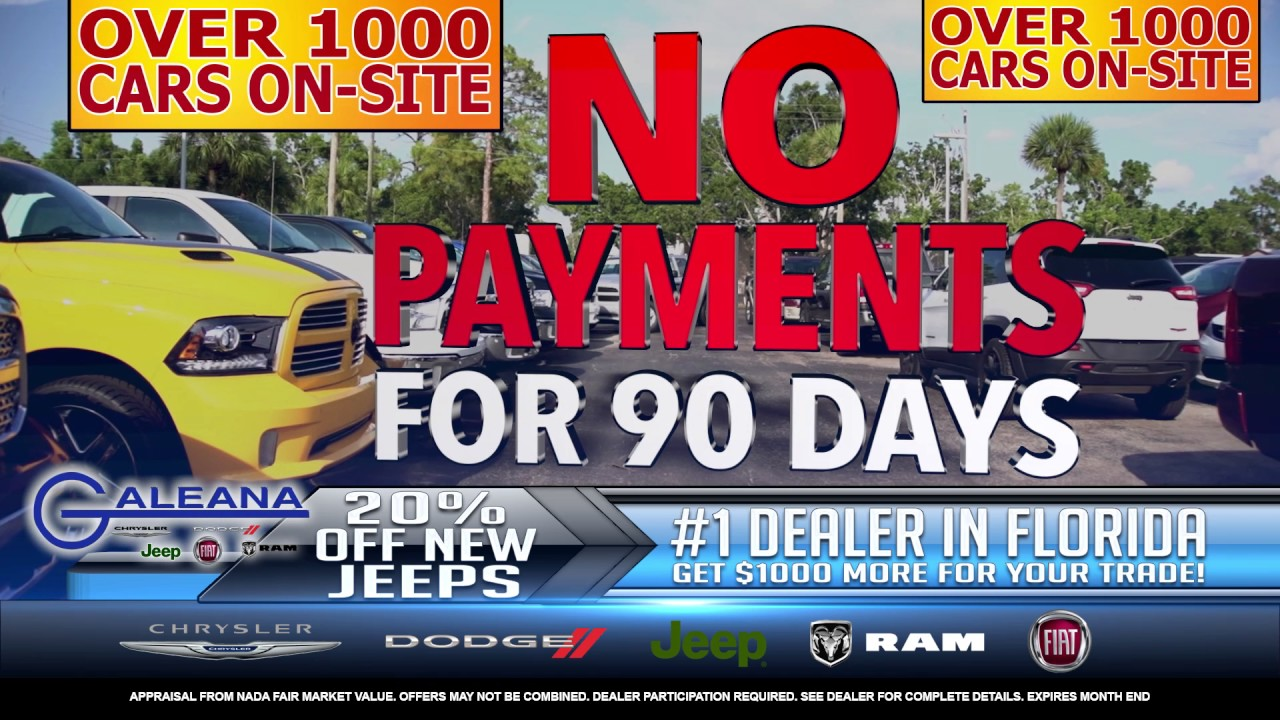 Galeana is the 1 chrysler dodge jeep ram dealer in florida