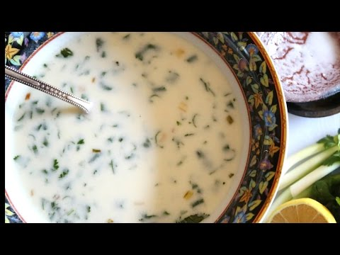 Թանապուր - Armenian Yogurt Soup Spas - Հեղինե - Heghineh Cooking Show In Armenian