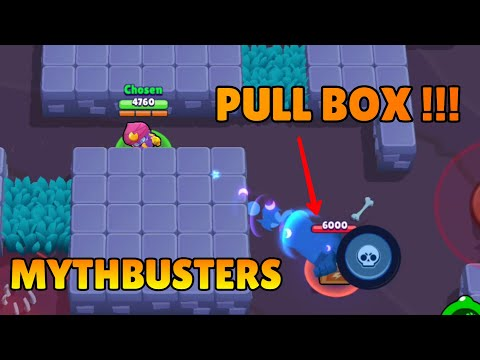 PULL A BOX WITH GENE'S SUPER !!! | Mythbusters Episode 3 | Brawl Stars.