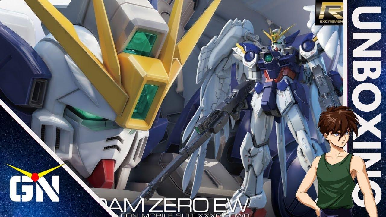 Quick Before It Self Destruct RG 1/144 Wing Zero EW | Unboxing