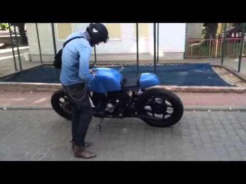 bmw r80 cafe racer umbau youtube. Black Bedroom Furniture Sets. Home Design Ideas