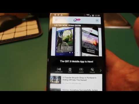 How to Send a Photo or Video Using the Q97.9 App