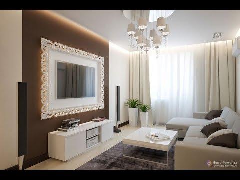 Гостиная в Коричневых Тонах - 2018 / Living Room in Brown Tonas / Wohnzimmer in braunen Tonas